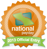 National Payday 2013 Entry