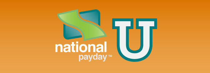 National Payday University Banner!